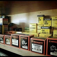olajszűrő, levegő szűrő, pollenszűrő, üzemanyag szűrő
