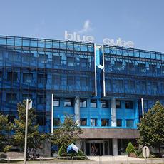 Blue Cube Irodaház (Forrás: vizmuvek.hu)