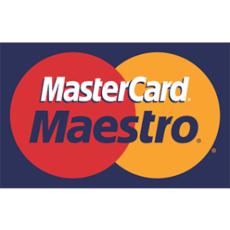 Fizetés MasterCard, Maestro kártyával is!