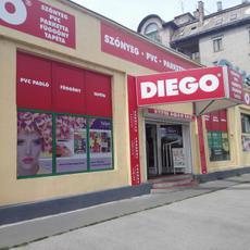 DIEGO ANGYALFÖLD, Budapest XIII. Lehel utca 12.Szőnyeg,laminált padló,függöny,karnis,pvc,tapéta..