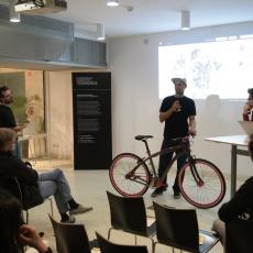 CyclePunk előadás az egyedi bringákról a designhéten