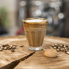 Cherubino espresso macchiato