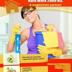 Hard Work 2009 Kft.: Takarítás