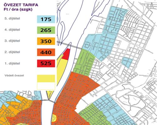 parkolás 13 kerület térkép XIII. kerület   Angyalföld, Újlipótváros, Vizafogó | Így változtak