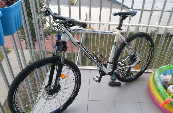 A Jász utcai passzívház folyosójáról ellopott Shockblaze bringa