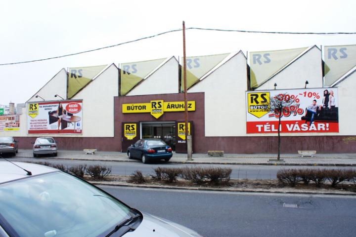 XIII. kerület - Angyalföld, Újlipótváros, Vizafogó  RS Bútoráruház - Reitter Ferenc utca